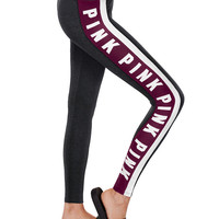 Cotton Colorblock Legging - PINK - Victoria's Secret