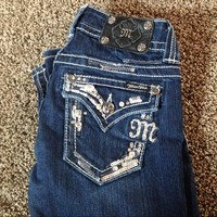 Dazzled Miss Me jeans