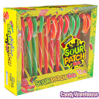 Sour Patch Kids Candy Canes: 12-Piece Box