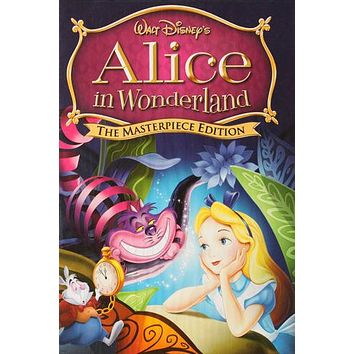 Disney ALICE in wonderland POSTER 24X36 plus Cheshire Cat & Rabbit rare - PW0
