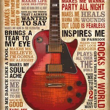 Music Inspires Poster 22x34