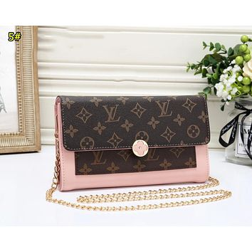 LV Louis Vuitton Fashion New Chain Shopping Leisure Shoulder Bag Women 5#