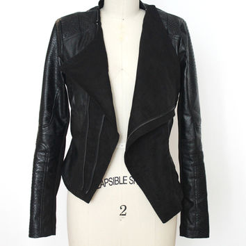 Vegan Leather Jacket (Arc & Co)