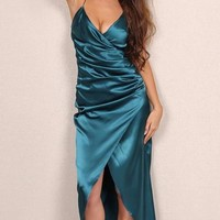 Arin Maxi Satin Dress