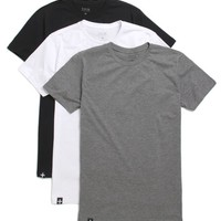 Tavik Three Pack Crew T-Shirt - Mens Tee - Multi