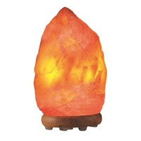Himalayan Salt Table Lamp 15-20 Lbs