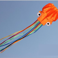 4m, Soft Cloth Octopus Kite Outdoor Toys