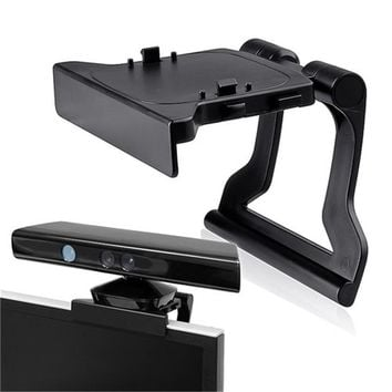 Mini Camera TV Clip Clamp Video Games Mount Stand Holder For Microsoft Xbox 360 Kinect Adjustable Support For Movement Sensors