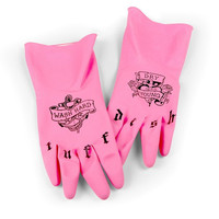 Tuff Dish Rubber Gloves by Fred | The Gray Goose