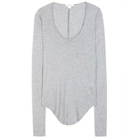 helmut lang - jersey long-sleeved top