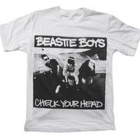 Beastie Boys Check Your Head Handprint T Shirt Hip Hop Punk Rock Alternative Band Studio Album 1992 Shirt Size S M L XL
