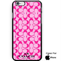 COACH Limited Editions Fashion On Hard Plastic Case For iPhone 6s, 6s plus, 7