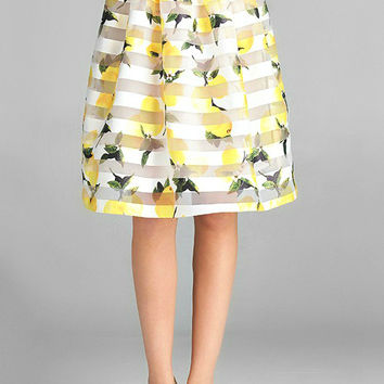 Lemons and Sugar Skirt