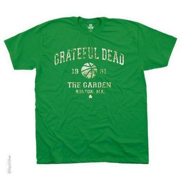 New GRATEFUL DEAD BOSTON GARDEN THE CELTICS 1991 LICENSED CONCERT BAND T SHIRT