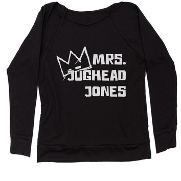 Mrs. Jughead Jones Slouchy Off Shoulder Oversized Sweatshirt