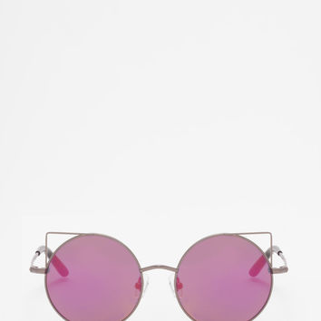 Linda Farrow - MW 122 Black Sunglasses