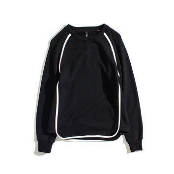 Men's Fashion Vintage Pullover Tops Strong Character Hoodies [7929353539]