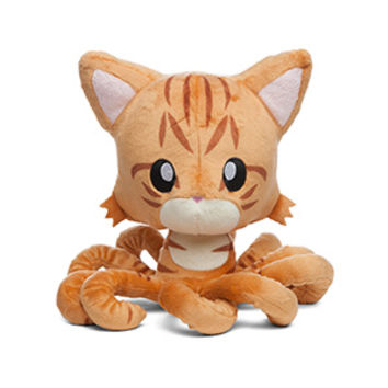 Exclusive Orange Tabby Tentacle Kitty