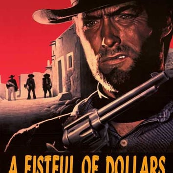 Fistful of Dollars Movie Poster 24x36