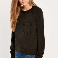 BDG Basketball Acid Wash Sweatshirt - Urban Outfitters