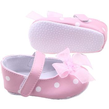 Baby Shoes 3Colors Toddler Girl Gauze Kid 0-12M
