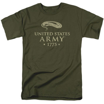 ARMY/WE'LL DEFEND - S/S ADULT 18/1 - MILITARY GREEN - MD