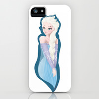 Frozen - Elsa iPhone & iPod Case by ccolors