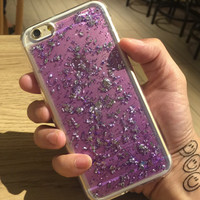 Purple Shining Case Cover for iPhone 7 iPhone X 8 6 6S Plus 6S Plus + Free Shipping + Gift Box 459