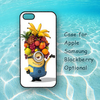 minions iphone 5 case, Despicable me iphone 4 case, ipod touch case, note 2 case, Samsung galaxy S3, Samsung galaxy S4, blackberry q10, z10