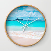 Hawaii Turquoise Ocean & White Sand Beach Collection By Luceworks | Society6
