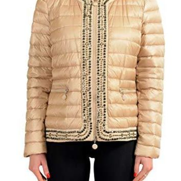 Moncler Women's Chartran Stone Down Light Parka Jacket US Sz 0 US XS