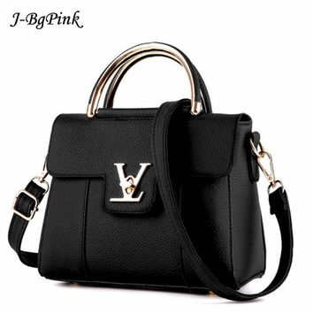 fake designer bags V Women's Luxury Leather Clutch Bag Ladies Handbags Brand Women Messenger Bags Sac A Main Femme loui Handl