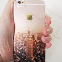 iPhone 7 case New York City NY NYC skyline Empire State building travel clear