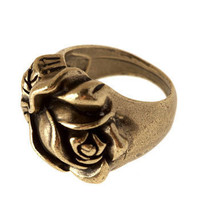 Rose Around the Ring | Mod Retro Vintage Rings | ModCloth.com
