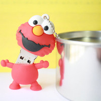 SALE30-70%OFF: 4GB Usb Cute Elmo usb Flash Drive 4Gb , Cute Usb Flash Drive , Accessories , usb, Kawaii Funny usb