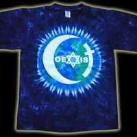 Coexist Tie-Dye Earth Shirt LIMITED EDITION Size: Small