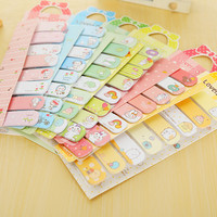1 x lovely bowknot memo pad kawaii paper sticker post it sticky notes stationery material escolar school office supplies