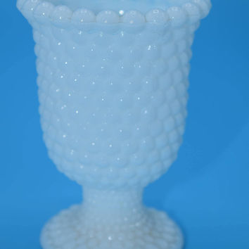 Hobnail Milk Glass Votive Holder Vintage White Milk Glass Toothpick Holder Milk Glass Votive Wedding Decor Gift for Her Mothers Day Gift