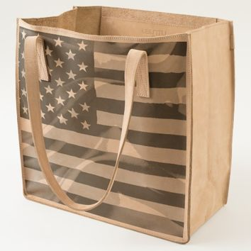 American Flag UBUNTU collection Tote
