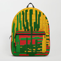Crayon Invaders Backpack by deluxephotos