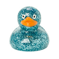 Turquoise Disco Duck Blueberry Lip Balm