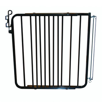 "Cardinal Gates Auto Lock Hardware Mounted Dog Gate Black 26.5"" - 40.5"" x 1.5"" x 29.5"""
