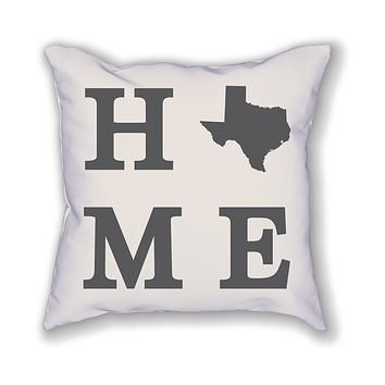 Texas Home State Pillow