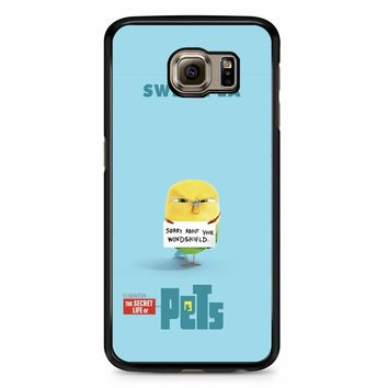 The Secret Life Of Pets Sweetpea Poster Samsung Galaxy S6 Case