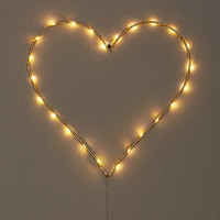 Light-Up LED Heart Sconce | Urban Outfitters