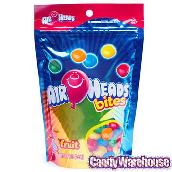 AirHeads Bites Candy - Fruit: 9-Ounce Bag | CandyWarehouse.com Online Candy Store