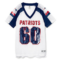 New England Patriots Bling V-neck Jersey - PINK - Victoria's Secret