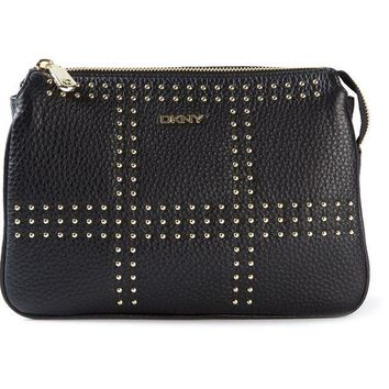 ONETOW DKNY studded crossbody bag