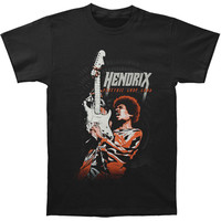 Jimi Hendrix Men's  Electric Lady Land T-shirt Black