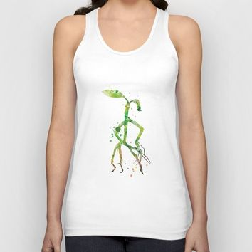 Pickett Bowtruckle Unisex Tank Top by MonnPrint